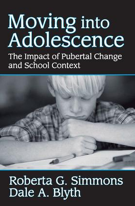 Moving into Adolescence: The Impact of Pubertal Change and School Context, 1st Edition (Paperback) book cover
