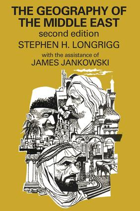 The Geography of the Middle East: 2nd Edition (Paperback) book cover