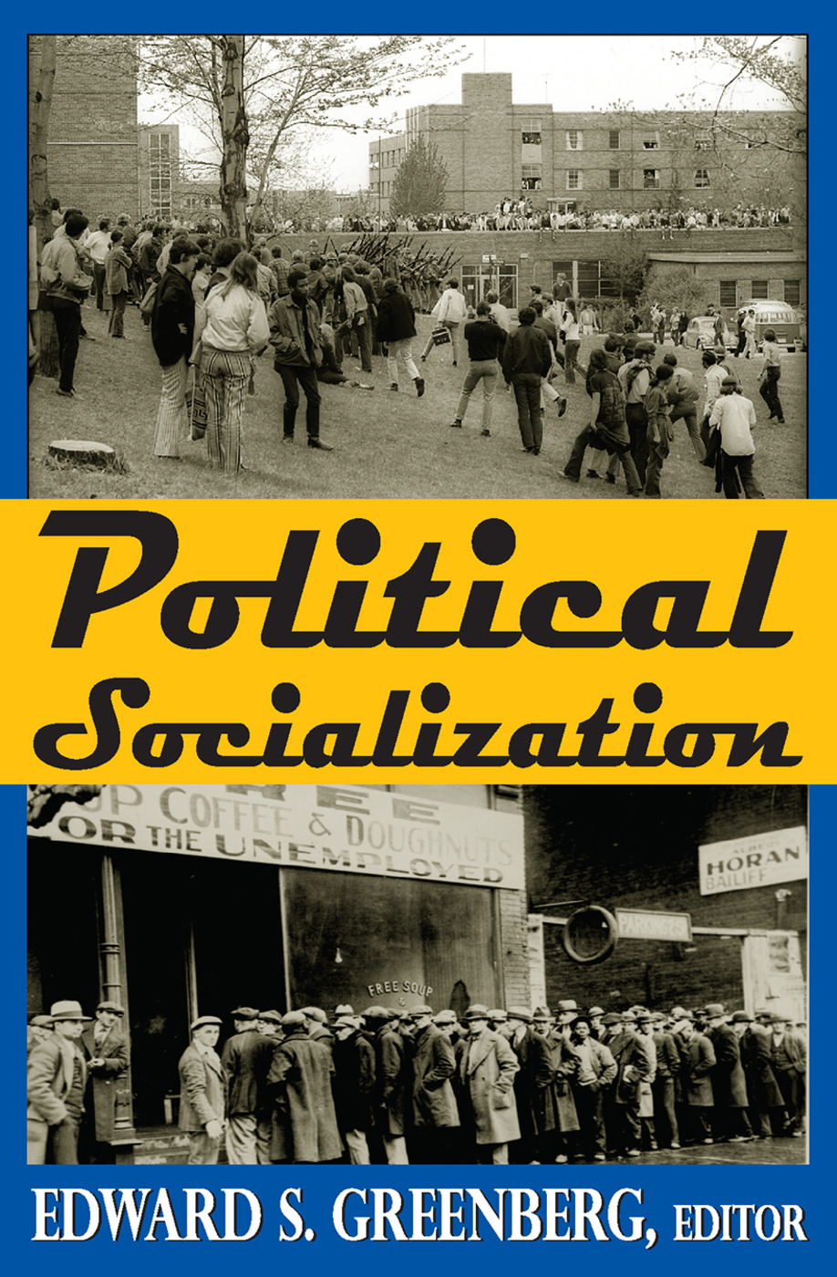 Political Socialization: 1st Edition (Paperback) book cover
