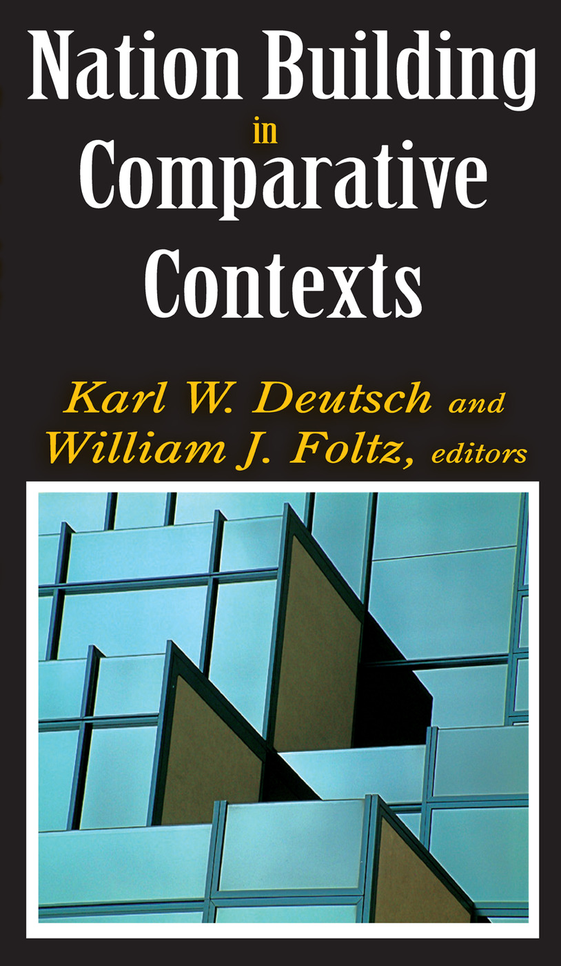 Nation Building in Comparative Contexts: 1st Edition (Paperback) book cover