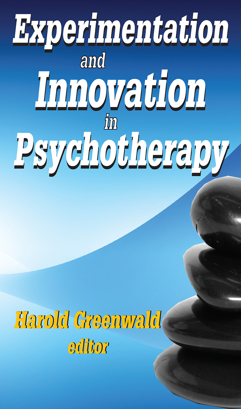 Experimentation and Innovation in Psychotherapy: 1st Edition (Paperback) book cover
