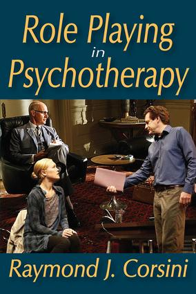 Role Playing in Psychotherapy: 1st Edition (Paperback) book cover