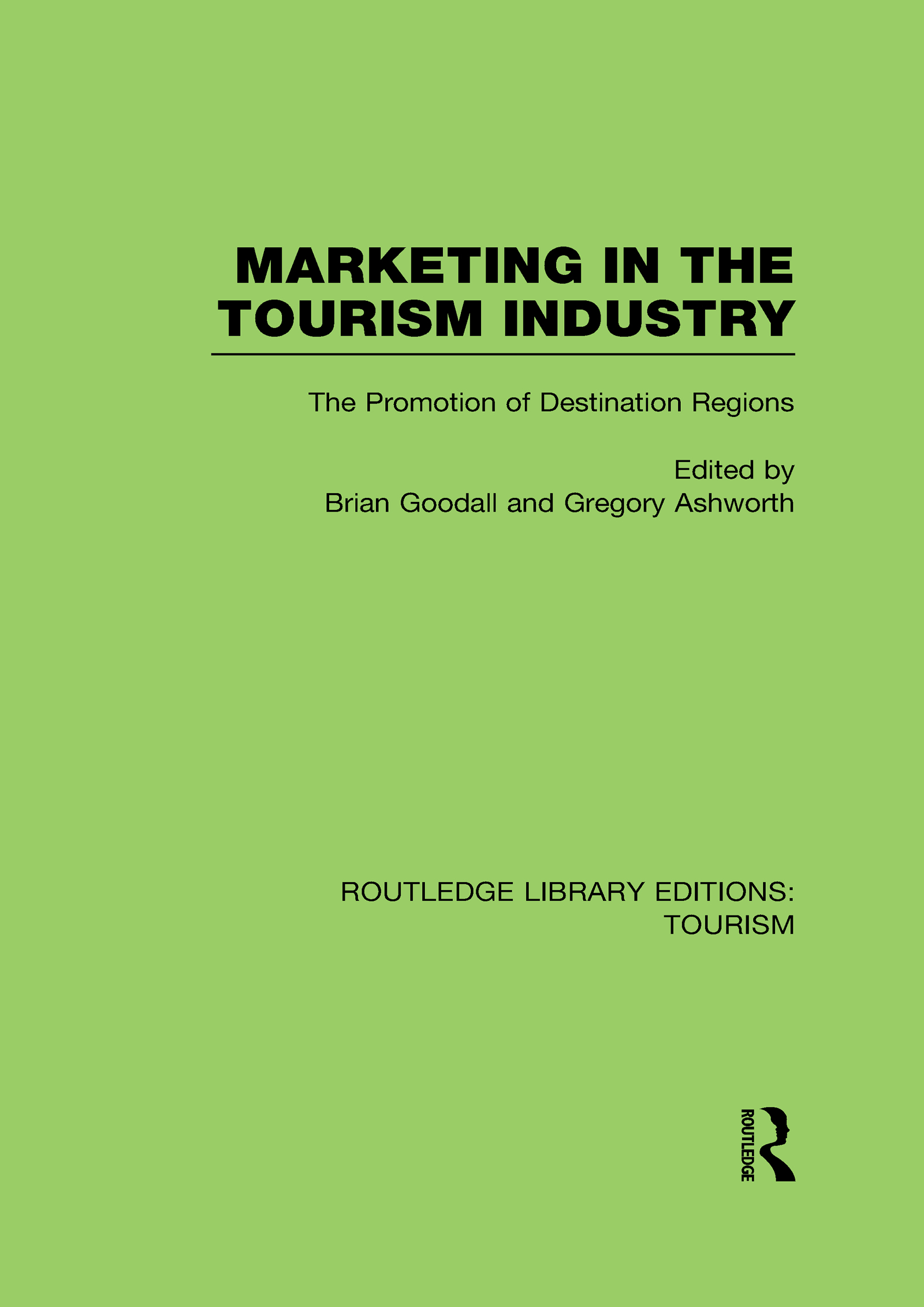 Routledge Library Editions: Tourism