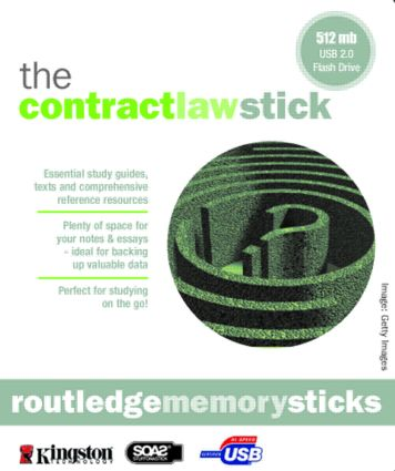Memory Stick Modern Law of Contract 6/e + Q&A Contract Law 6/e: 6th Edition (Memory Stick) book cover