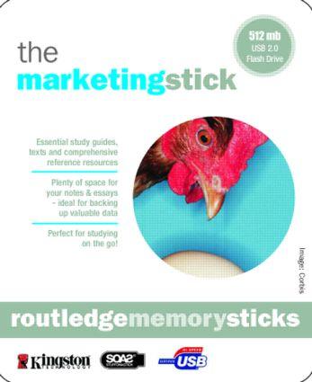 Marketing Memory Stick: Fundamentals of Marketing; Marketing: The Basics (Memory Stick) book cover