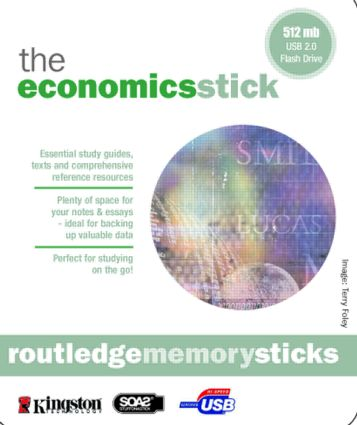 Memory Stick: Economics: Economics: The Basics; Fifty Major Economists; The Basics of Essay Writing (Memory Stick) book cover
