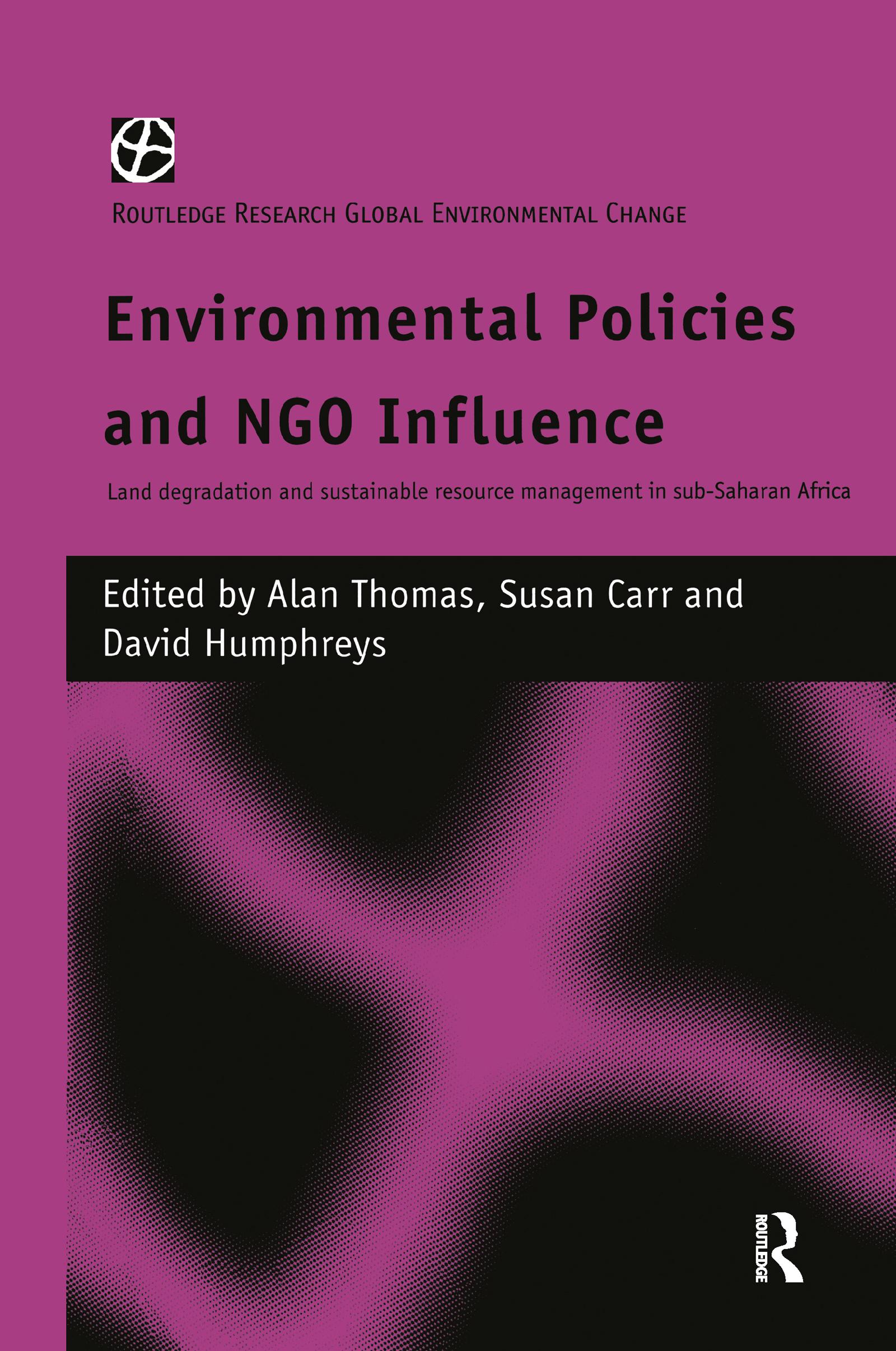 Environmental Policies and NGO Influence