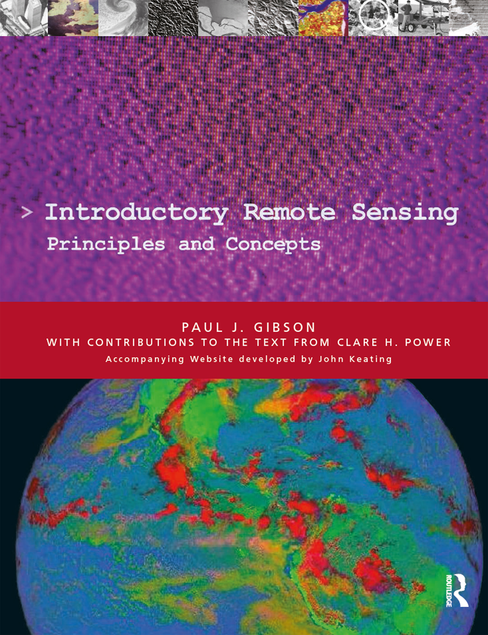 Introductory Remote Sensing Principles and Concepts (e-Book) book cover