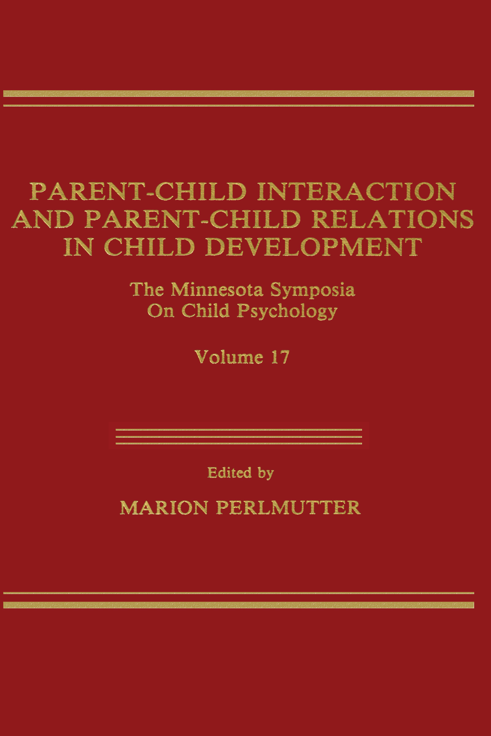 Parent-Child Interaction and Parent-Child Relations