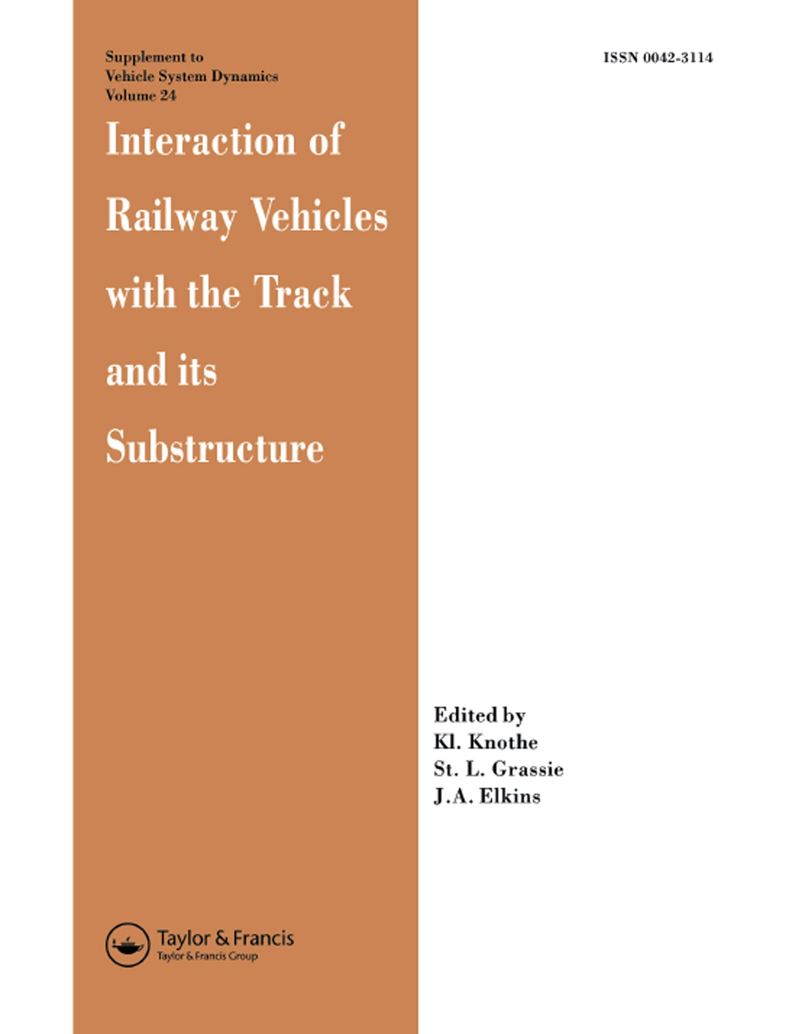 Interaction of Railway Vehicles with the Track and Its Substructure
