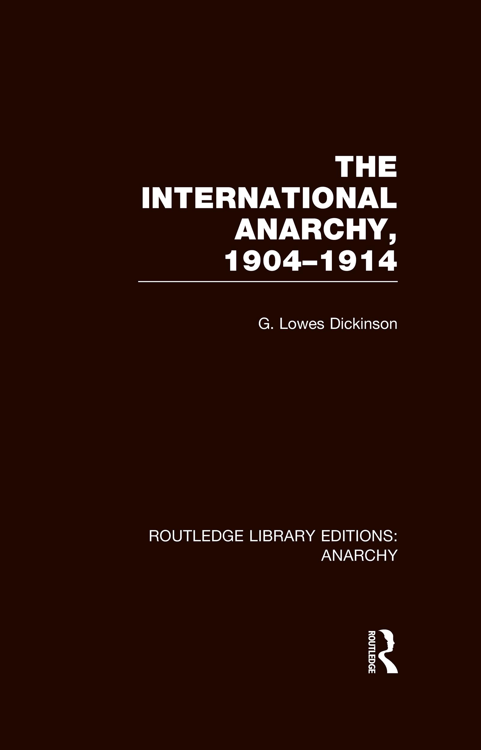 The International Anarchy (RLE Anarchy)