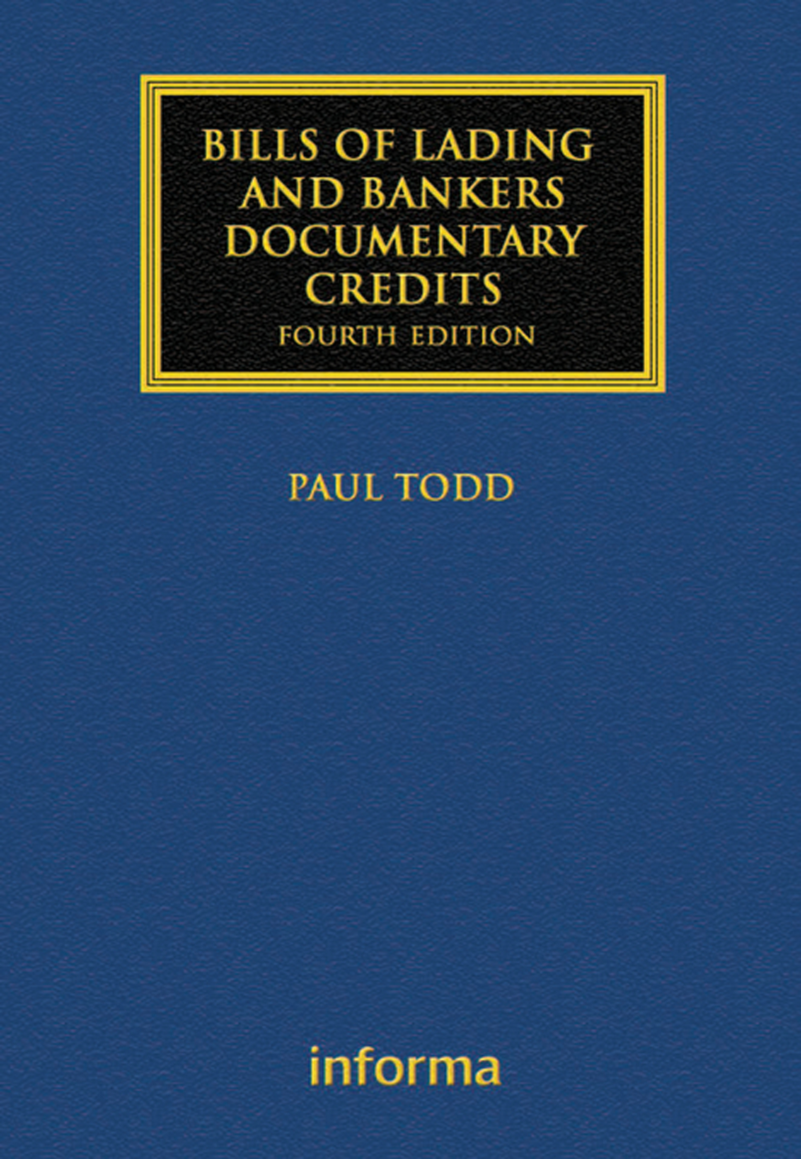 Bills of Lading and Bankers' Documentary Credits