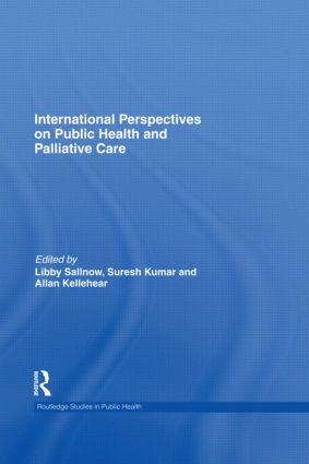 International Perspectives on Public Health and Palliative Care book cover