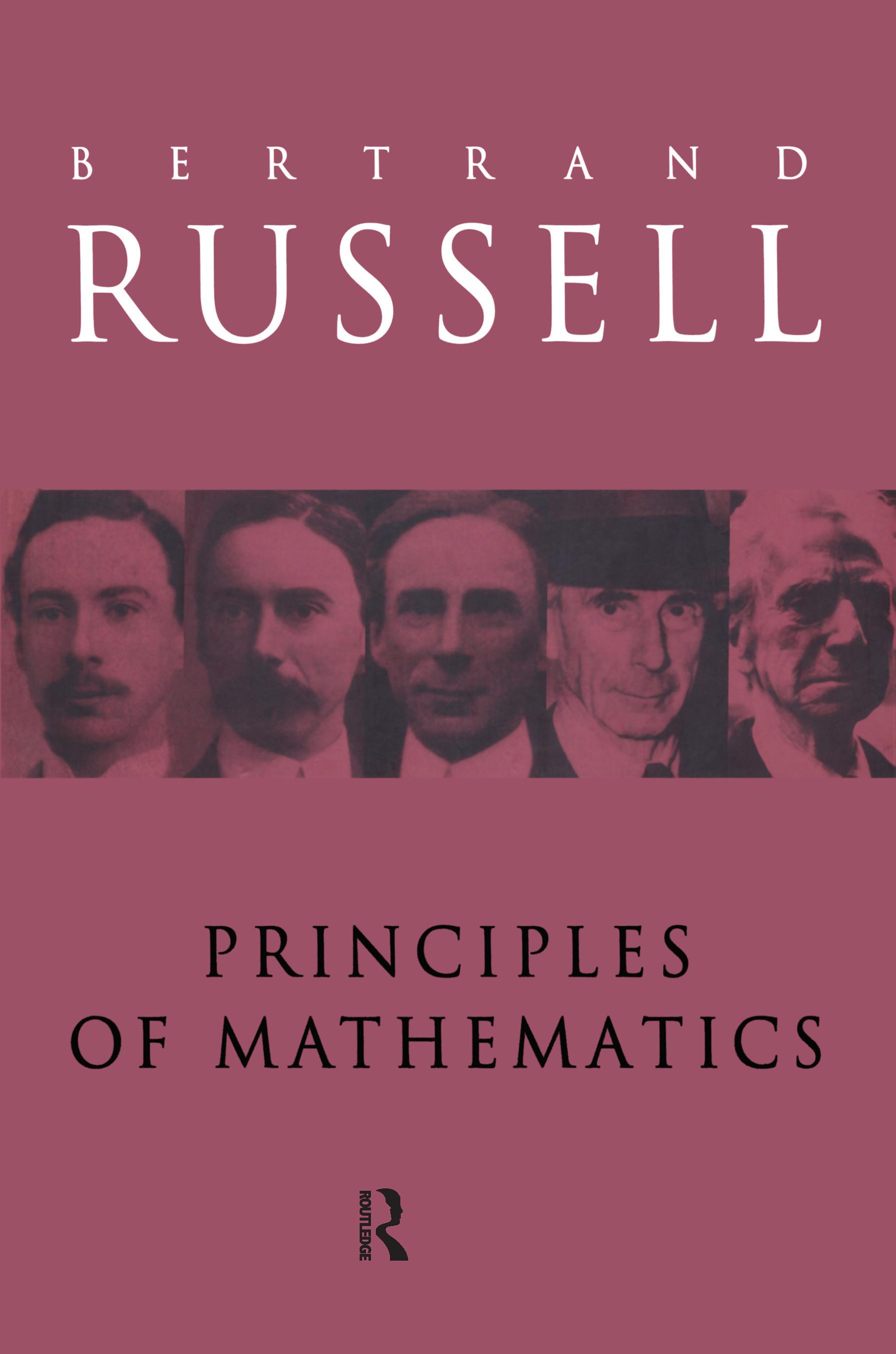 Principles of Mathematics book cover