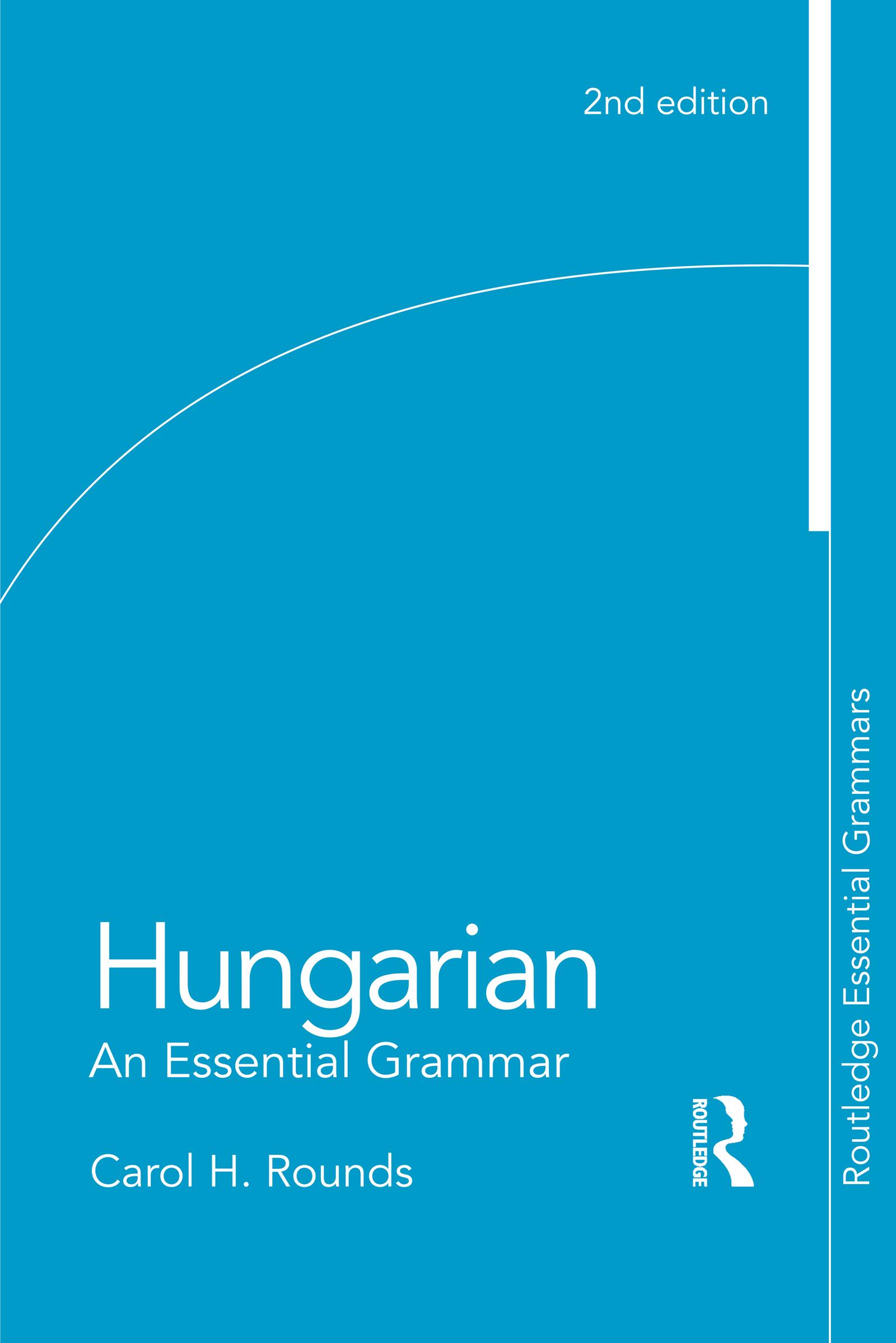 Hungarian: An Essential Grammar book cover