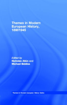 Europe and the wider world, 1890–1945