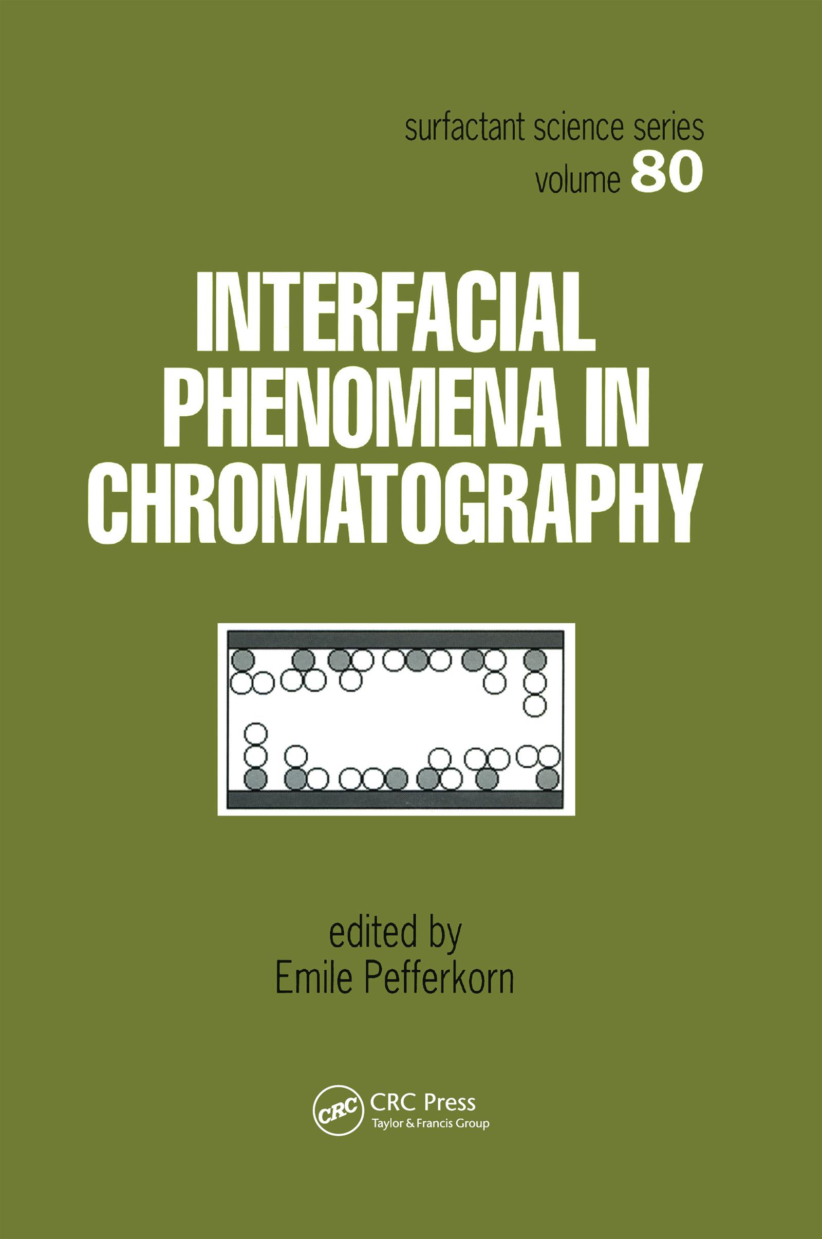 Interfacial Phenomena In Chromatography