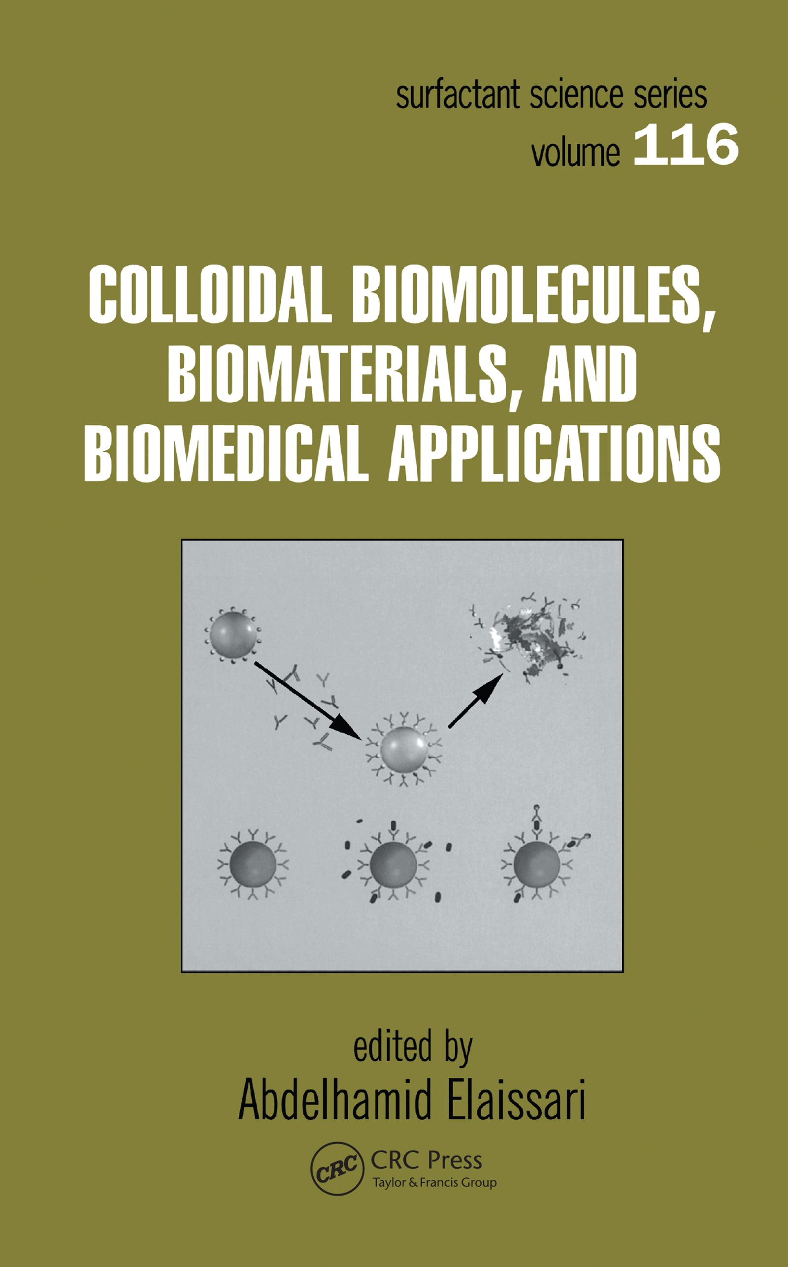 Colloidal Biomolecules, Biomaterials, and Biomedical Applications