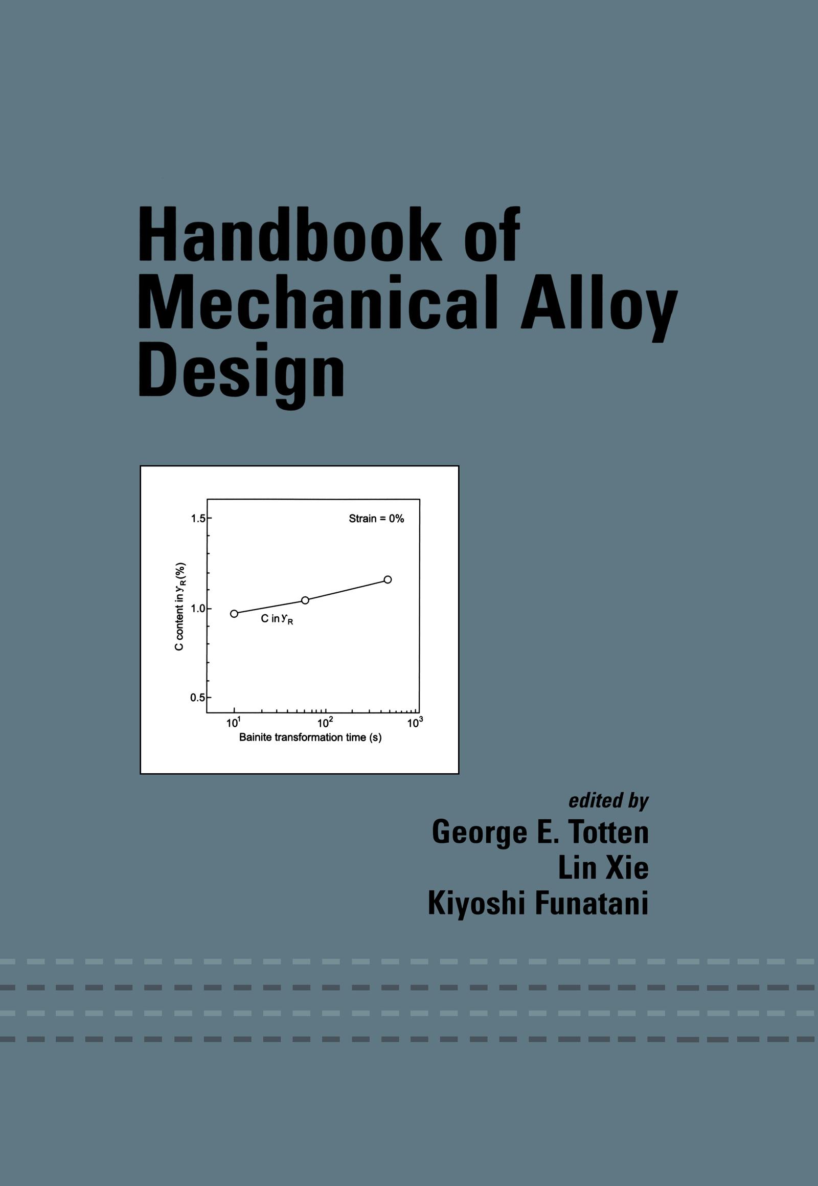 Handbook of Mechanical Alloy Design