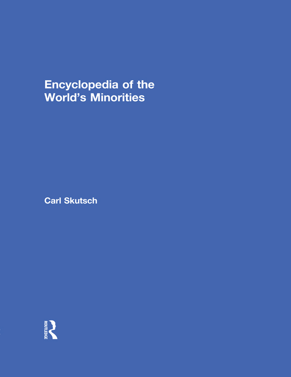 Encyclopedia of the World's Minorities