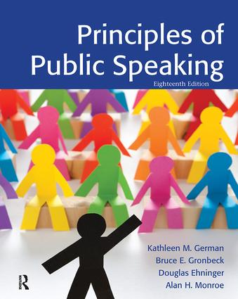 Principles of Public Speaking (Paperback) book cover