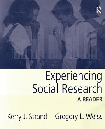 Experiencing Social Research: A Reader book cover