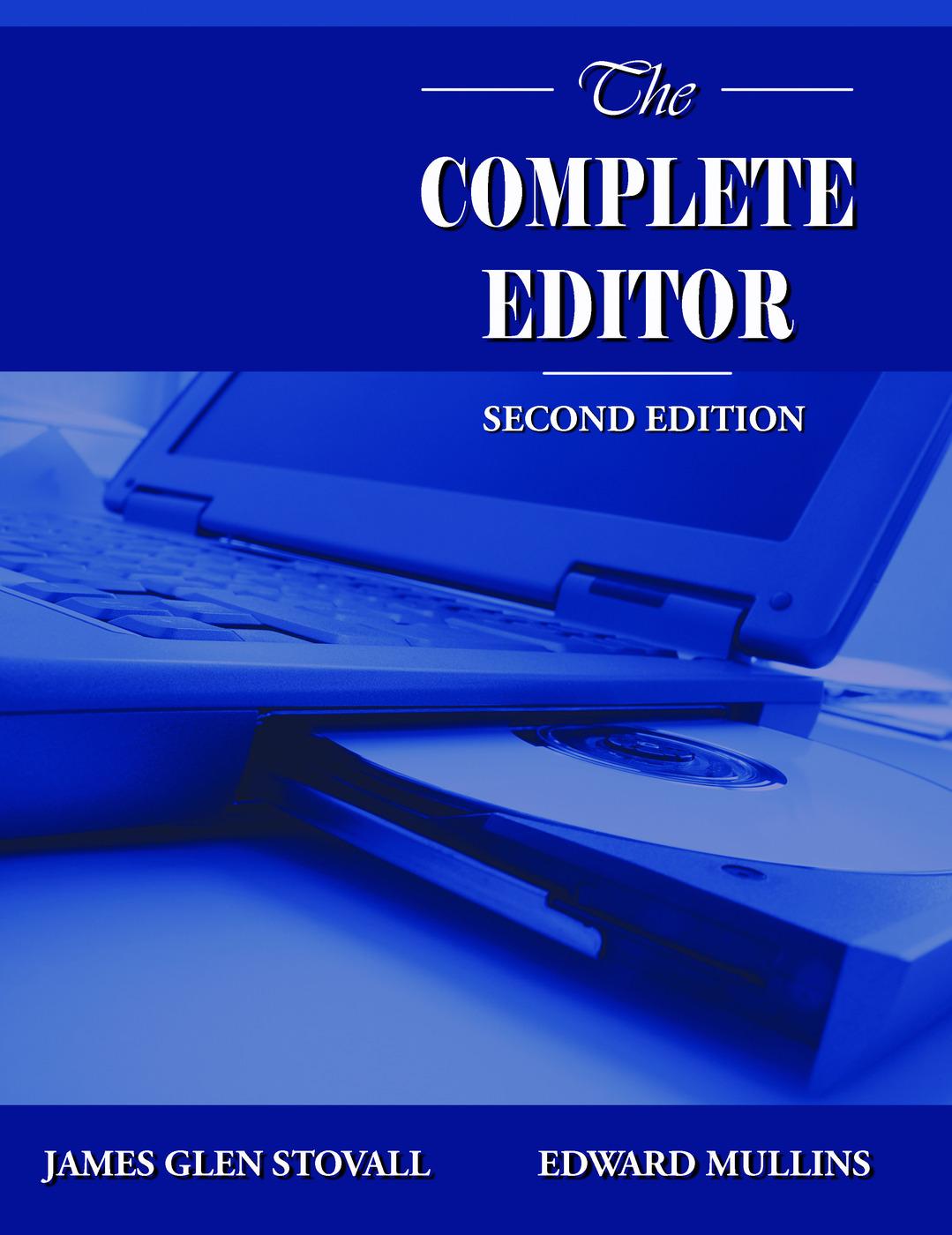 The Complete Editor: 2nd Edition (e-Book) book cover
