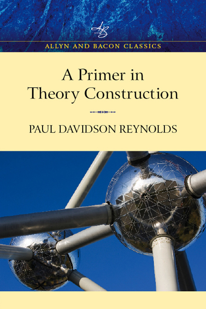 Primer in Theory Construction: An A&B Classics Edition, 1st Edition (Paperback) book cover
