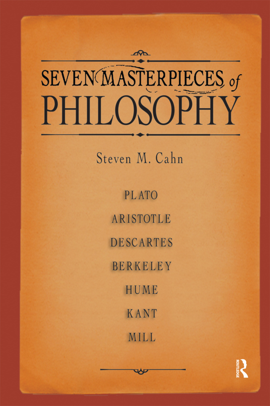 Seven Masterpieces of Philosophy: 1st Edition (Paperback) book cover