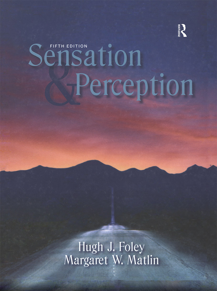 Sensation and Perception book cover