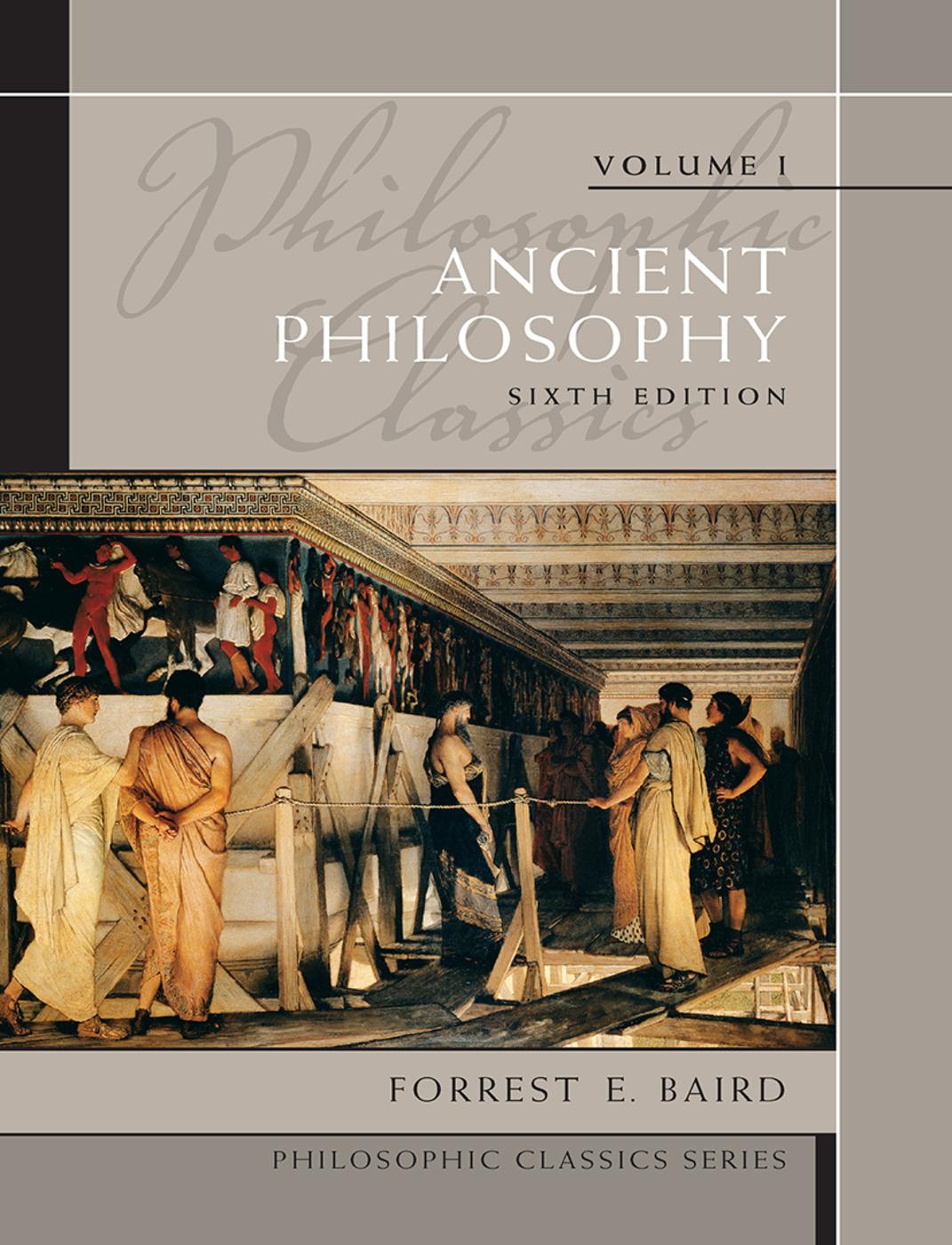 Philosophic Classics (Paperback) book cover