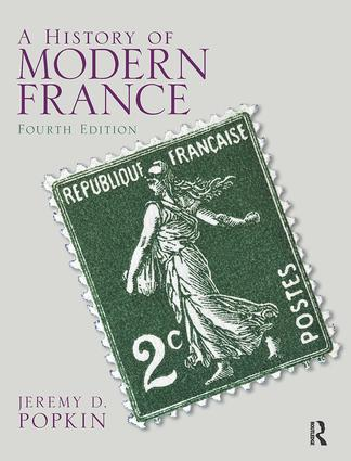 A History of Modern France: PowerPoint Presentation (Download Only), 4th Edition (Paperback) book cover