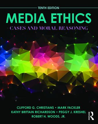 Media Ethics: Cases and Moral Reasoning book cover