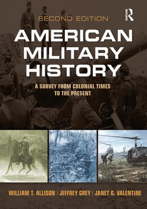 American Military History: A Survey From Colonial Times to the Present, 2nd Edition (Paperback) book cover