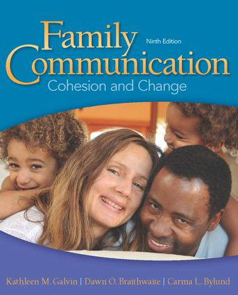 Family Communication: Cohesion and Change book cover