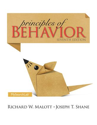 Principles of Behavior: Seventh Edition, 7th Edition (Paperback) book cover
