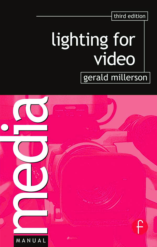 Lighting for Video book cover