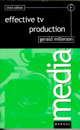 Effective TV Production book cover