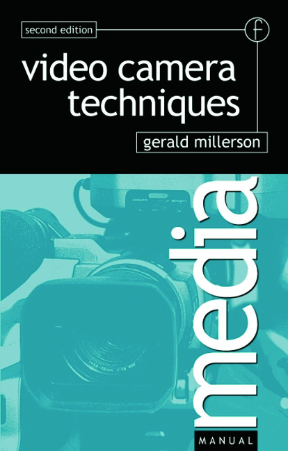 Video Camera Techniques book cover