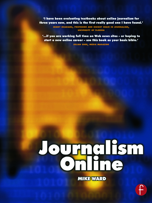 Journalism Online: 1st Edition (Paperback) book cover