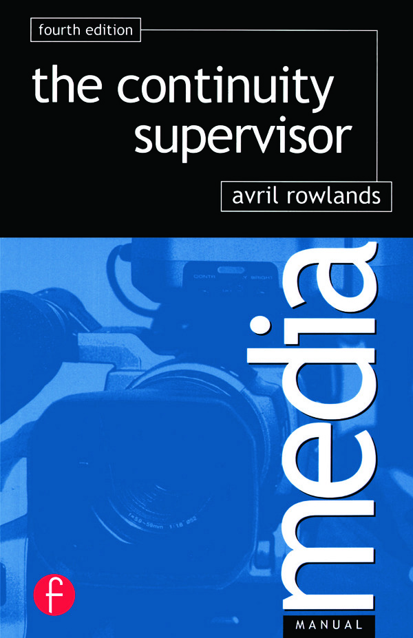 Continuity Supervisor: 4th Edition (Paperback) book cover