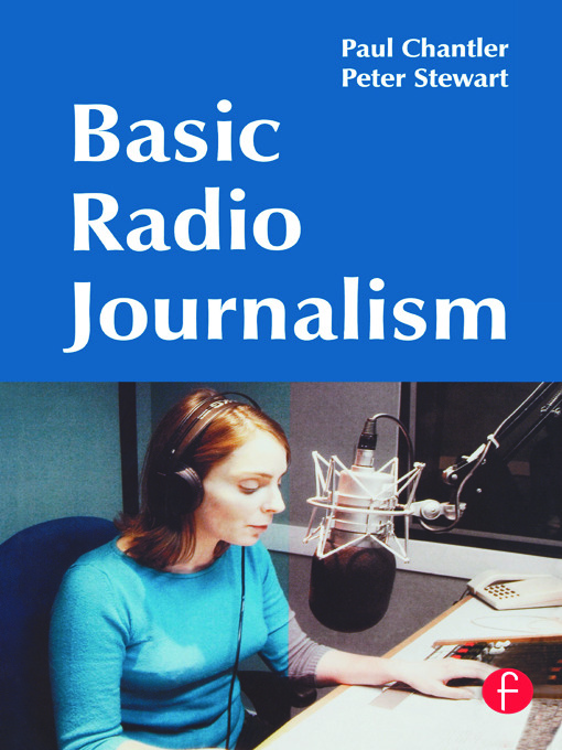 Basic Radio Journalism: 1st Edition (Paperback) book cover