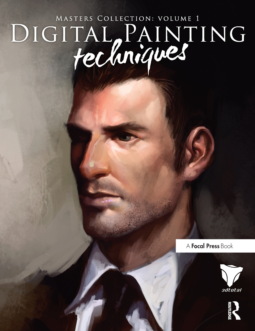Digital Painting Techniques: Practical Techniques of Digital Art Masters book cover