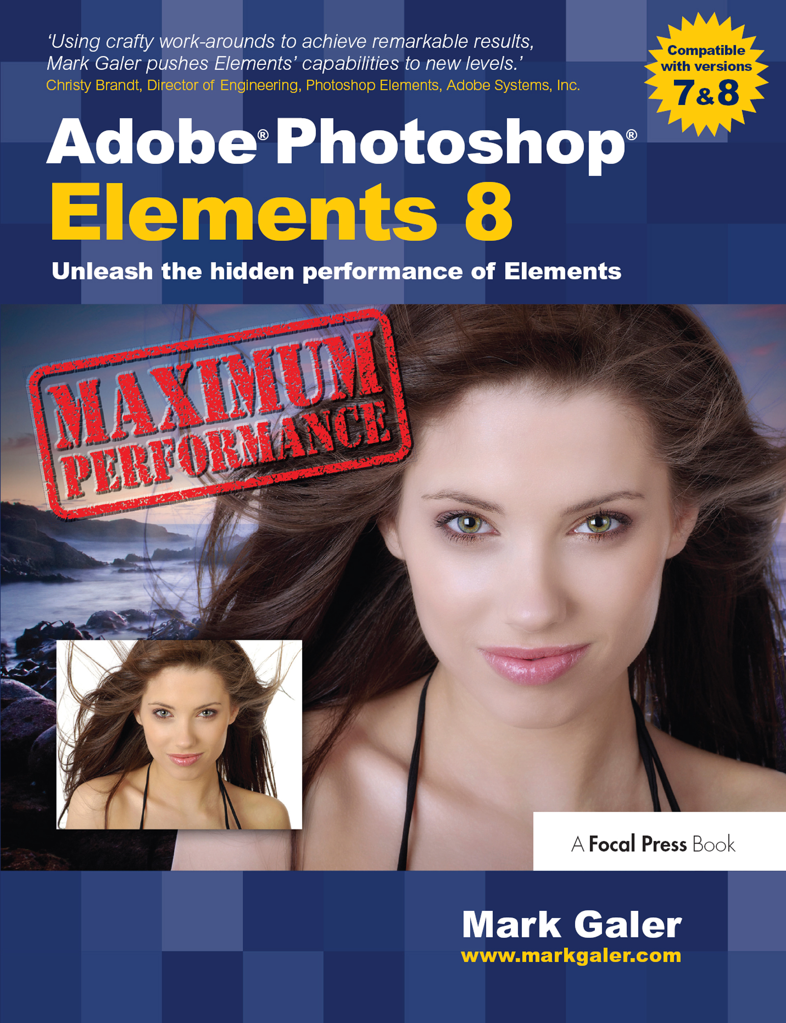 Adobe Photoshop Elements 8: Maximum Performance: Unleash the hidden performance of Elements, 1st Edition (e-Book) book cover