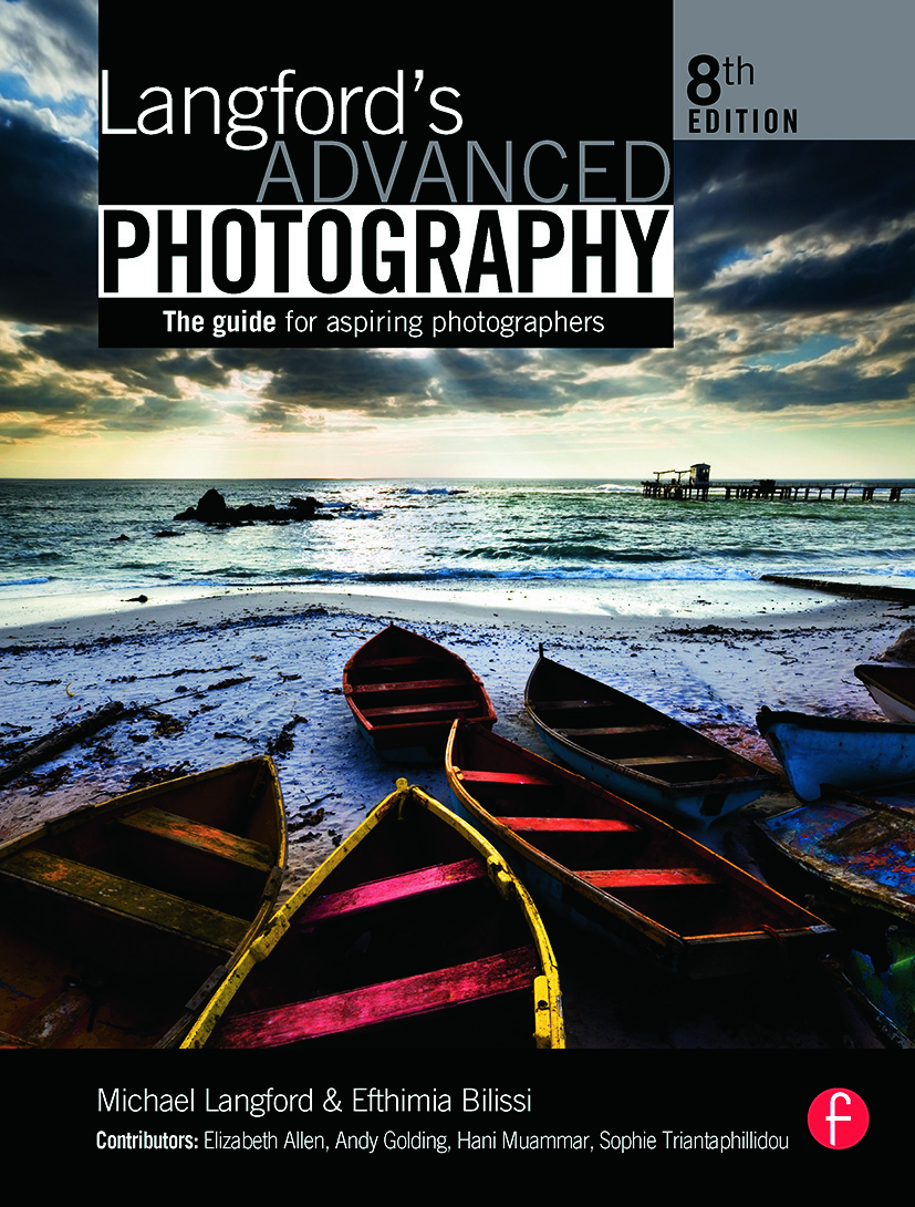 Langford's Advanced Photography: The guide for aspiring photographers, 8th Edition (Paperback) book cover