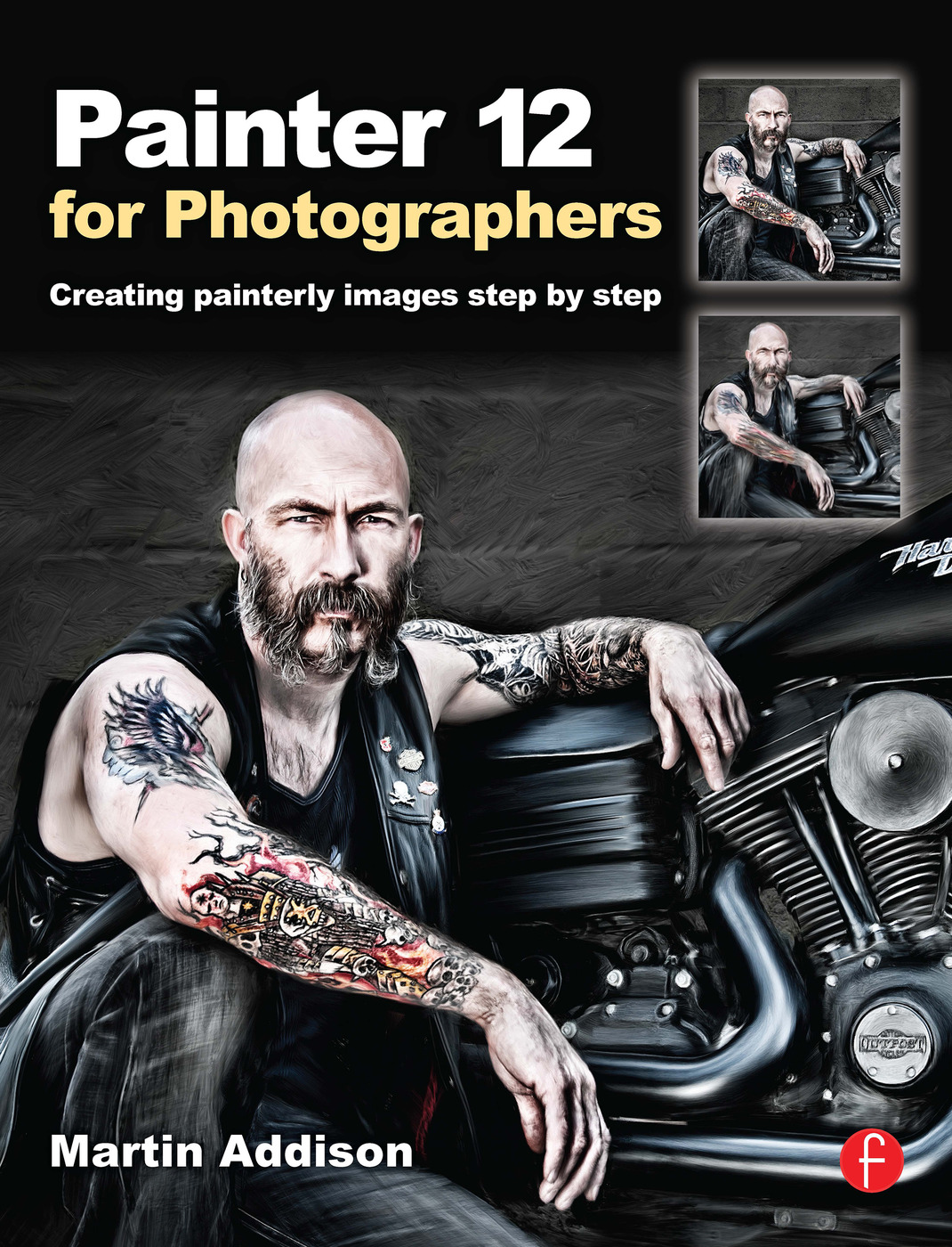 Painter 12 for Photographers: Creating painterly images step by step book cover