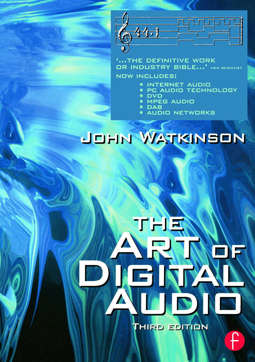 Art of Digital Audio: 3rd Edition (Paperback) book cover