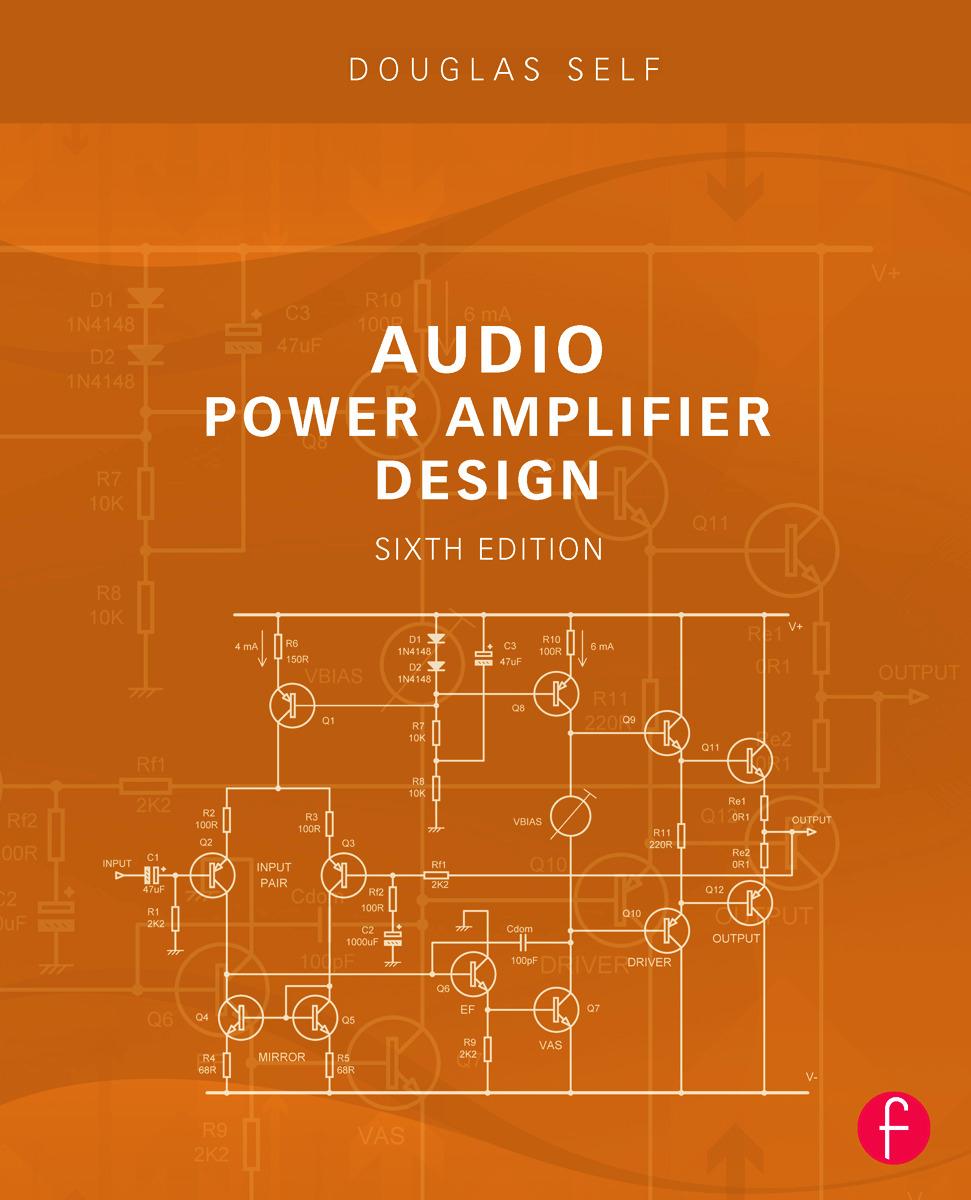 Audio Power Amplifier Design book cover