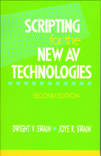 Scripting for the New AV Technologies: 2nd Edition (Paperback) book cover