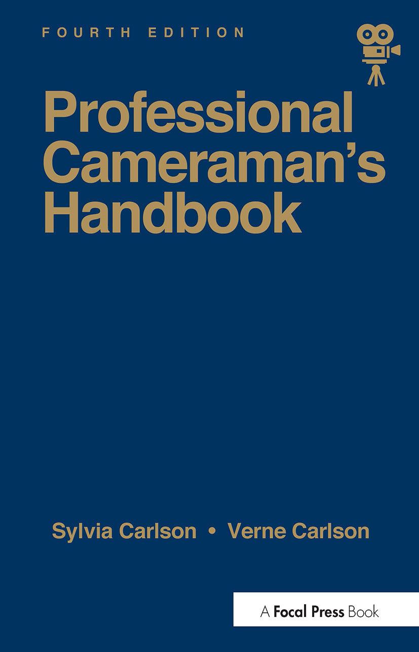 Professional Cameraman's Handbook, The book cover